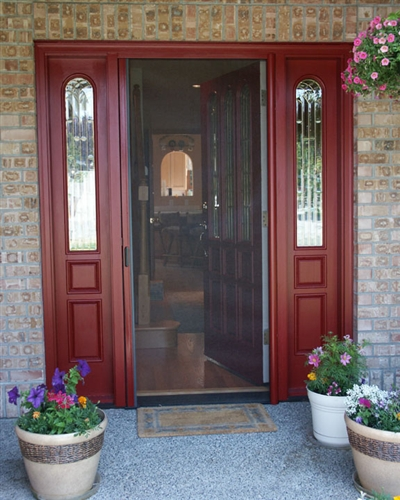 Custom Single Panel Retractable Screen Door